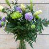 Composició Flors en Blanc Lila i verd