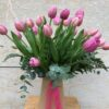 Ram tulipes roses