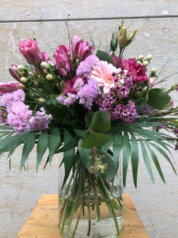 Bouquet de tons rosats petit