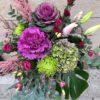 Centre amb tons rosats - fors pasanau- floristeria de barcelona